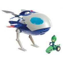 Pidżamersi - Kosmiczny samolot - Rakieta z dźwiękami - Super Moon Adventure 95121