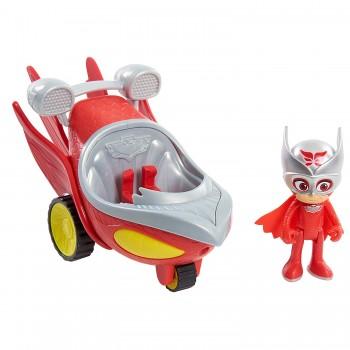 Pidżamersi - Sowella z pojazdem Speed Booster 95232