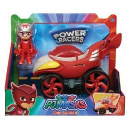 Pidżamersi - Figurka Sowella z pojazdem - Power Racers 95387