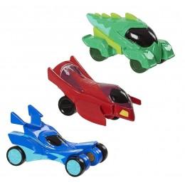 Pidżamersi – Zestaw 3 małych pojazdów – 95760