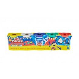 Ciastolina Play-Doh – Tuby uzupełniające 5 kolorów – F1848