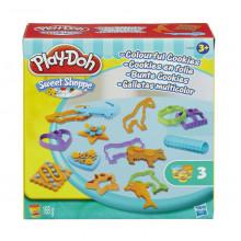 Ciastolina Play-Doh - Kolorowe ciasteczka - Zestaw z foremkami - A7656