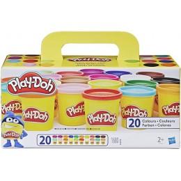 Play-Doh – Zestaw 20 tubek ciastoliny A7924