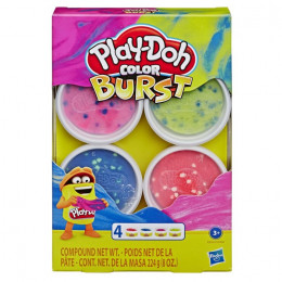 Ciastolina Play-Doh - Color Burst neon 4 tubki - E6966 E8060