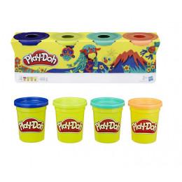 Ciastolina Play-Doh - Cztery tubki 448g - Zwierzątka B5517 E4867