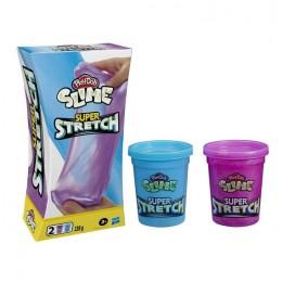 Play-Doh Slime – Super Stretch – fioletowy i niebieski – E9444 E6888