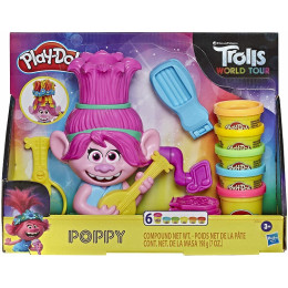 Ciastolina Play-Doh – Trolls World Tour - Poppy E7022