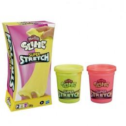 Play-Doh Slime – Super Stretch – różowy i żółty – E9444 E9445
