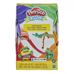 Ciastolina Play-Doh Elastix – Rozciągliwa ciastolina – 4 kolory – E6967 E9863
