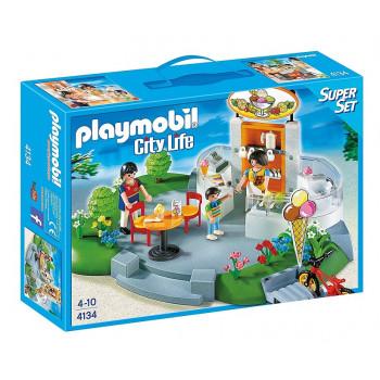 Playmobil 4134 City Life – Lodziarnia