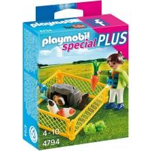 Playmobil Klocki Special Plus 4794 Dziewczynka ze świnkami morskimi
