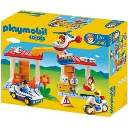 Playmobil 1-2-3 5046 Policja i pogotowie ratunkowe