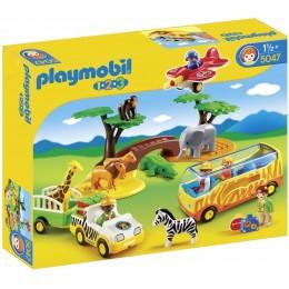 Playmobil Klocki 1-2-3 5047 Duże safari w Afryce