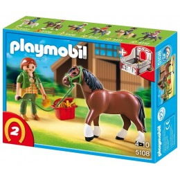 Playmobil 5108 Koń Shire