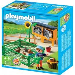 Playmobil Klocki 5123 Wybieg dla Króliczków