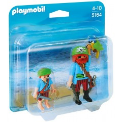Playmobil Duo Pack 5164 Duży i mały pirat