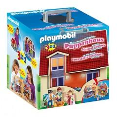 Playmobil Klocki Dollhouse 51675 Przenośny Domek dla Lalek