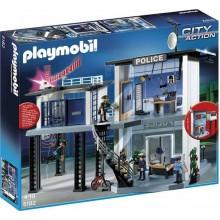 Playmobil 5182 Klocki City Action Komisariat Policji z dźwiękiem i światłem