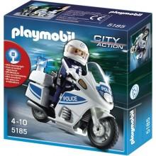 Playmobil 5185 Klocki City Action Motor Policyjny