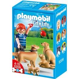 Playmobil 5209 Rodzina Golden Retriever