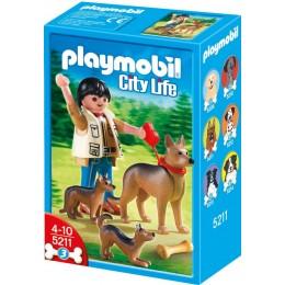 Playmobil 5211 Rodzina Owczarków niemieckich