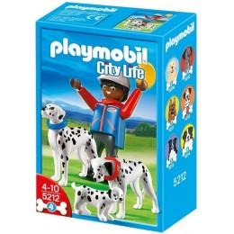 Playmobil 5212 Rodzina Dalmatyńczyków