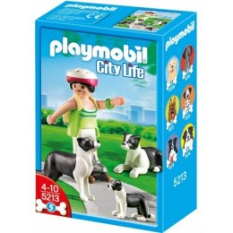 Playmobil 5213 Rodzina Border Collie