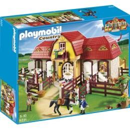 Playmobil Country 5221 Duża stadnina koni z boksami stajennymi