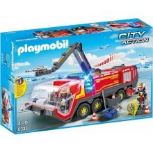 Playmobil 5337 City Action - Pojazd strażacki na lotnisku