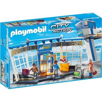 Playmobil 5338 City Action - Lotnisko z wieżą kontrolną