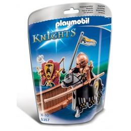 Playmobil Klocki Knights 5357 Rycerz Turniejowy Klanu Dzikich Koni