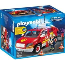 Playmobil 5364 Klocki City Action Samochód Komandanta Straży Pożarnej