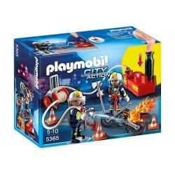 Playmobil 5365 Klocki City Action Strażacy z Gaśnicą