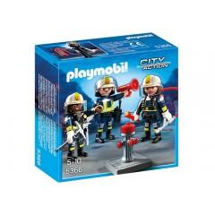 Playmobil 5366 Klocki City Action Grupa Strażaków