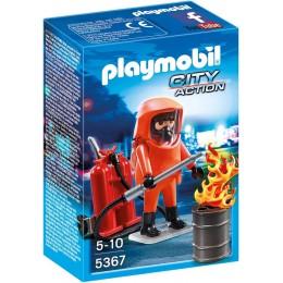 Playmobil 5367 Klocki City Action Strażak Jednostki Specjalnej