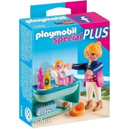 Playmobil 5368 Mama z dzieckiem i przewijakiem