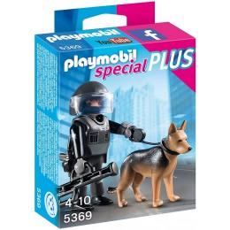 Playmobil 5369 Policjant jednostki specjalnej z psem