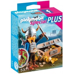 Playmobil 5371 Wiking ze złotym skarbem