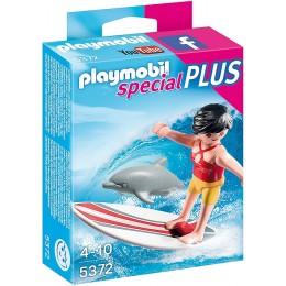 Playmobil 5372 Dziewczyna serfująca z delfinem
