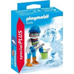 Playmobil Special PLUS 5374 Rzeźbiarka z lodową rzeźbą