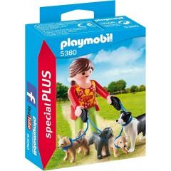 Playmobil Special PLUS 5380 Opiekunka psów