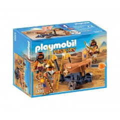Playmobil 5388 History - Egipscy wojownicy z wyrzutnią