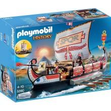 Playmobil 5390 History - Rzymska galera