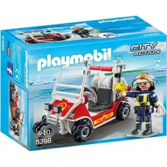 Playmobil City Action 5398 Quad straży pożarnej