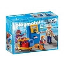 Playmobil 5399 City Action - Rodzina przy automacie check-in