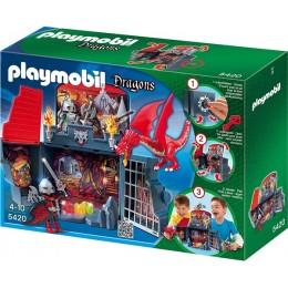 Playmobil Klocki Dragons 5420 Smoczy Loch - Game Box