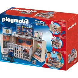 Playmobil 5421 Klocki City Action Komisariat Policji - Game Box