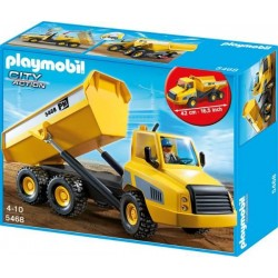 Playmobil City Action 5468 Ogromna wywrotka