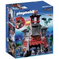 Playmobil Klocki Dragons 5480 Tajemnicza Smocza Twierdza
