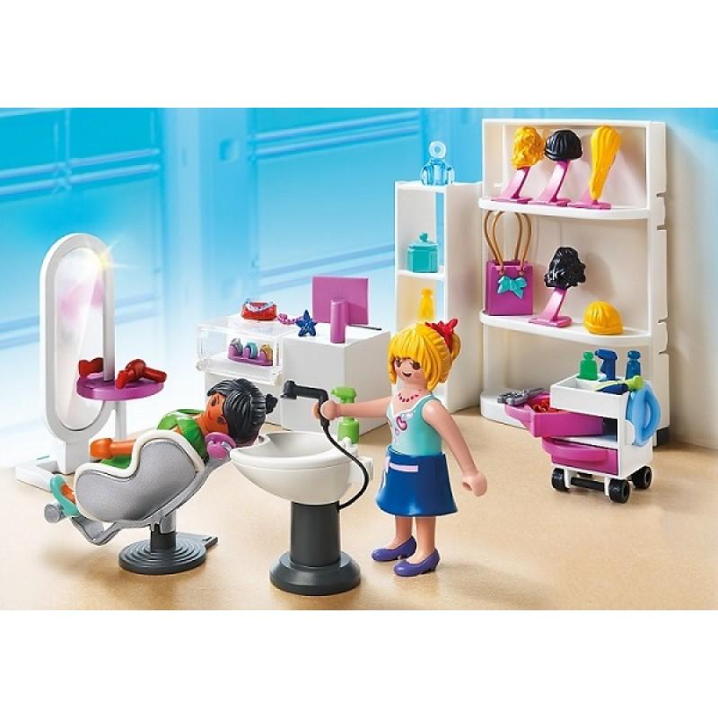 Playmobil city life 5487 salon kosmetyczny sklep for Salon playmobil